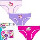 nagyker Fehérneműk: My Little Pony 3 csomag rövidnadrág