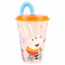 grossiste Maison et cuisine: Peppa Pig Tasse à boire avec de la paille