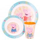 Peppa Pig Breakfast set 3 pcs
