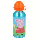mayorista Artículos para el hogar: Peppa Pig botella de aluminio