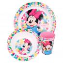 Minnie Zestaw śniadaniowy Mouse 3 szt