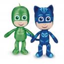 wholesale Toys: PJ Masks Plush 32 cm Green Blue
