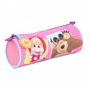 Masha and the Bear pencil case Friendship Goals