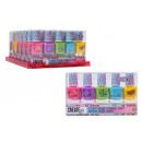 Großhandel Nagellack: Erstelle es! Nagellack mit Duft 5er Pack Aufstelle