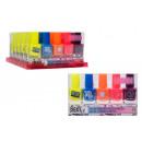 Großhandel Nagellack: Erstelle es! Nagellack Neon 5er Pack Aufsteller