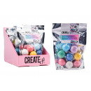 nagyker Egyéb: Létrehozni! Bath Ball Mini Neon 8-csomag