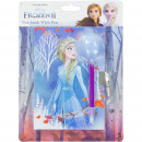 Frozen 2 Disney Diary with fluffy pen Lead with co