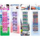 Disney character Pencils HB 5 pack