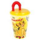 hurtownia Dom & Kuchnia: Lion King Kubek do picia ze słomką