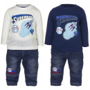 Superman 3 pieces baby set