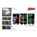 Avengers socks in display