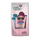 LOL Surprise beach towel microfiber Shine Bright
