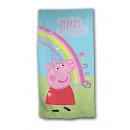 Peppa Pig beach towel microfiber Rainbow