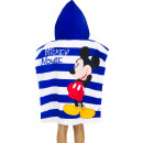 wholesale Coats & Jackets: Mickey Mouse Hooded poncho Stripes