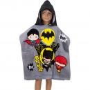 hurtownia Fashion & Moda: Batman Ponczo z welurowym kapturem