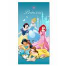 Princess beach towel microfiber 5 Princesses