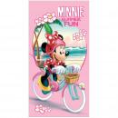 Minnie Mouse beach towel microfiber