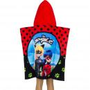 ingrosso Ingrosso Abbigliamento & Accessori: Miraculous Ladybug Poncho da bagno con cappuccio i