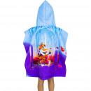 grossiste Vetement et accessoires: La Reine de neiges 2 Cape de bain capuche