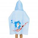 Frozen 2 Disney Poncho med velour huva
