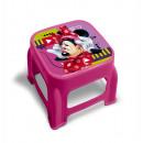 wholesale Small Furniture: Minnie plastic stool Pink