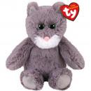 Großhandel Babyspielzeug: TY Plüsch Katzengrau mit Glitzeraugen-Kit