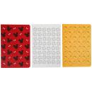 Großhandel Tücher & Schals:Mickey Notebook 3er Pack