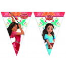 wholesale Party Items: Elena Avalor Triangle flag banner (9 flags)