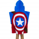 wholesale Towels: Avengers Hooded poncho velour Captain America