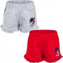 Miraculous Ladybug Shorts Red/LGrey
