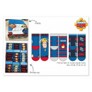 nagyker Licenc termékek: Fireman Sam zokni a Display