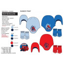 Spiderman hats and gloves 3 colors #