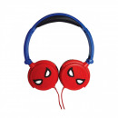 wholesale Headphones: Spiderman Headphones red / Blue