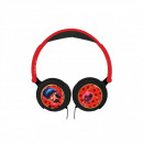 wholesale Telephone: Miraculous Ladybug Headphones Black / Red