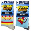 Yokai Watch 3 darab zokni