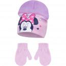 Minnie baba kalap kesztyűvel