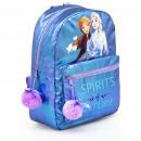 frozen 2 Disney hátizsák Glitter pompomokkal 38 cm