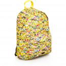 nagyker Licenc termékek: Emoji hátizsák 42 cm-es tokkal