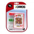 Großhandel Gesellschaftsspiele:Kartenspiel / 6 Würfel