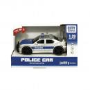 Police car light and sound