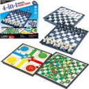 wholesale Parlor Games:4-in-1 Board game 25 CM