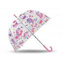 paraply transparent Cupcake
