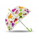 wholesale Umbrellas: umbrella transparent Crazy Dino