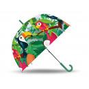 wholesale Umbrellas: umbrella transparent Tropical Style