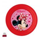 Minnie műanyag 3D Tányér 20 cm