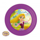 wholesale Party Items: Princess PLASTIC PLATE 20cm 3D