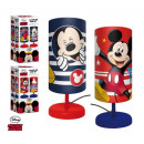 wholesale Lampes: Mickey Mouse cylinder bedside lamp