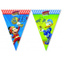 wholesale Party Items: Mickey Triangle flag banner (9 flags)