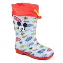 mayorista Zapatos:Mickey bota de lluvia