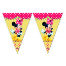 mayorista Articulos de fiesta: Minnie Bandera Triángulo ( 9 banderas )